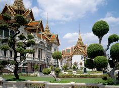 The Grand Palace in Bangkok has served as the official residence for kings of Thailand since the 18th century.