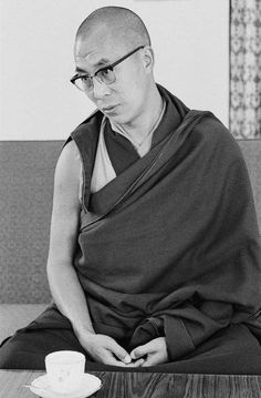H.H 14th Dalai Lama , Dharamsala north India 1969.
