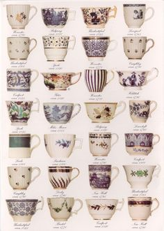 Teacups, teacups, teacups!