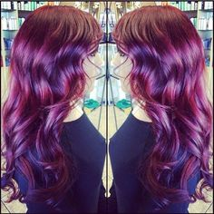 HOW-TO: Red-Violet Color Technique by Katey-Bug Browne   Modern Salon