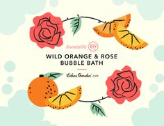 At some point in the day, we all need a break. Turn your bath into a spa with our essential oil bubble bath recipe using Wild Orange and Rose oils.