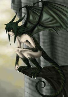 Teru half-dragon by NoahAsai on DeviantArt Dragon Half, Dragon Born, Werewolf Art, Fourth World, Character Inspiration, Character Ideas, Dungeons And Dragons, Cool Art, Creatures