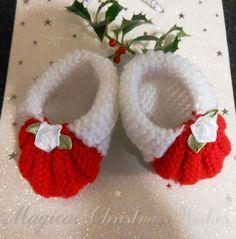 Christmas booties <3