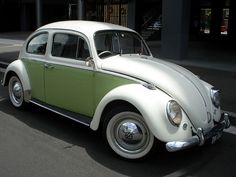1966 two tone VW Beetle