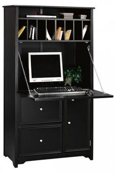 I like this secretary desk also. It has space for my printer and files. And it's a good price