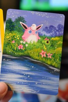 The Internet Is Obsessed With These Beautifully Painted Pokémon Cards