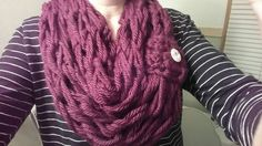 Check out this item in my Etsy shop https://www.etsy.com/listing/219278782/knitted-chunky-infinity-scarf