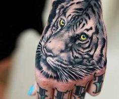 White Tiger tattoo by Khan Tattoo