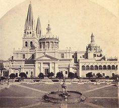 Catedral de Guadalajara, Méx. 1870.