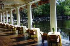 The Boathouse: Central Park, New York - best brunch, I could just eat the pastry basket they bring before you get your meal, with their fantastic bloody mary of course.