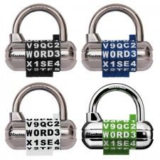 Multi-Colored WORD Combination Padlock