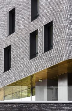 Window detail Day-Care And Young Workers Hostel By Venier Cornejo Architectes + Chartier Dalix Architectes