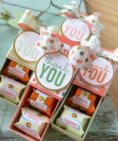 """. . . gibt man ein """"Küsschen"""" oder zwei oder drei ;-).     Süße kleine Verpackungen habe ich gewerkelt, in denen genau zwei """"Küsschen"""" von ..."""