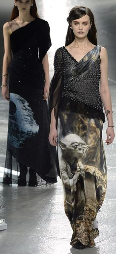 Star Wars: Elegant Collection! Now available in Death Stars near you! Star Wars on the Runway? Rodarte Made It Happen