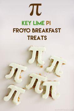 Key Lime Pi Froyo Breakfast Treats - Happy Pi Day! #AD @Yoplait