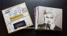 We have taken a first look at two new Madonna box sets which are due for release on Monday 26 March.
