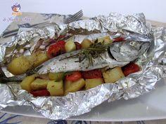 #Pesce al #cartoccio con #patate e #pachino http://blog.giallozafferano.it/lericettedibea/pesce-al-cartoccio-con-patate-e-pachino/ #lericettedibea #gialloblogs