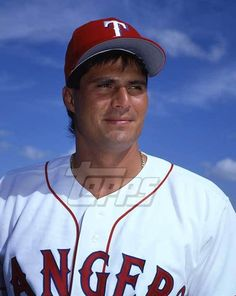 1994 Topps Baseball Original Color Negative. Jose Canseco RANGERS