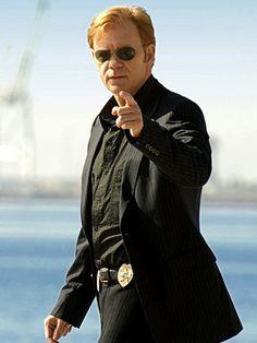 """David Caruso (as Lieutenant Horatio """"H"""" Caine) in """"CSI: Miami"""" (TV Series)"""