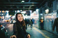 「夜の街 撮影 ポートレート レトロ」の画像検索結果