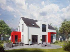 Haus Pure 5 • Einfamilienhaus von massa haus • Puristisch gestaltetes Fertighaus mit flexiblen Grundrissen und moderner Gestaltung der Fassaden • Jetzt bei Musterhaus.net informieren!