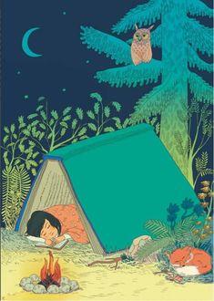 A book tent!  Perfect!