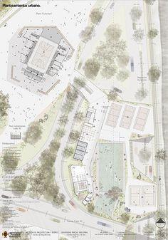 Lamina 2 - Planteamiento urbano