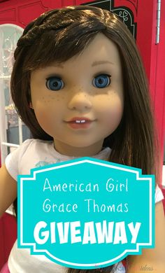 This American Girl Grace Thomas Giveaway is fun. One lucky winner will win a new and in the box, Grace Thomas! To enter, just follow posted instructions.