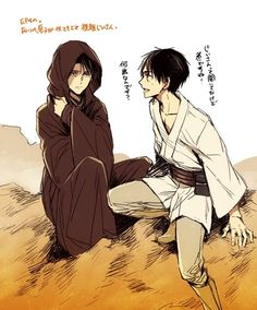 Star Wars/Attack on Titan fan art is exceptionally cool to me and I have no idea why.