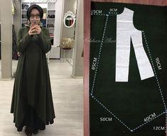 Fashion sewing clothing accessory design hijab diy kombin hijab fashion mother baby book daily female site Previous Post Next Post Dress Sewing Patterns, Clothing Patterns, Fashion Sewing, Diy Fashion, Style Fashion, Sewing Clothes, Diy Clothes, Hijab Mode, Hijab Fashion