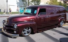 '54 Chevy Panel Truck..Re-pin brought to you by agents of #carinsurance at #houseofinsurance in Eugene, Oregon