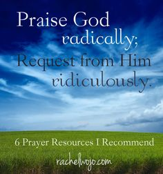 6 Prayer Resources I Highly Recommend; Includes FREE printables and prayer ideas