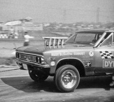 427 Dynamite 1966 Chevelle funny car