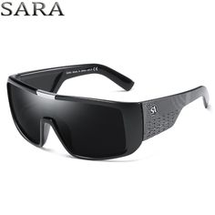 aa26388d9d SARA NewYear 2018 Dragon Sunglasses Men Sport Goggle Sun Glasses Windproof  Shield Frame Brand Mens sunglass vintage gafas oculos Review