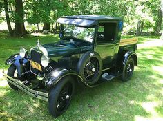 Ford : Model A Two Door 1929 Model A Ford Truck - http://www.legendaryfind.com/carsforsale/ford-model-a-two-door-1929-model-a-ford-truck-2/