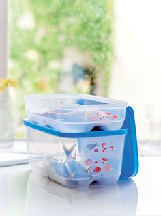 Keep meat, fish, vegetables fresh with Tupperware Cool Mates.