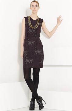 Lanvin Cat  amp  Logo Print Washed Silk Dress - Okay ec2c03333cd4f