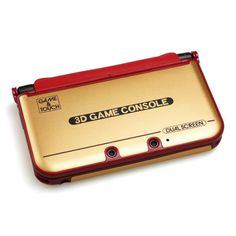 Game & Watch-style 3DS XL case
