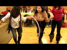 hula hoop relay 1st game.MOV - YouTube