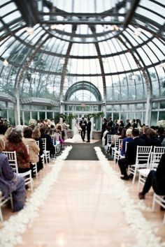 What an awesome wedding ceremony site!