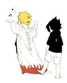 Naruto and Sasuke Uchiha #Naruto