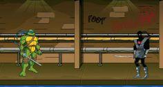 TMNT Foot Clan Street Brawl game online