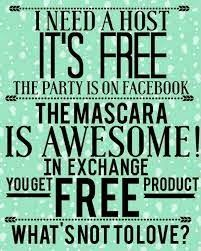 Samantha's Lashes: Because I love Younique so much I want to give you a FREE gift for hosting a party with me!!! Plus earn free and half off credits. Let's get this party started!  www.SamanthasLashes.com #younique #partytime #mascara