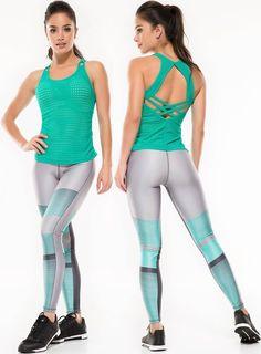 87b4547a675 Protokolo Lynne Leggings Women Sportswear Fitness Clothing Activewear  Exercise Apparel