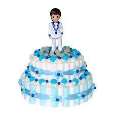 Resultado de imagen de tarta chuches comunion niño