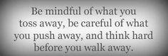 .  .  mindful