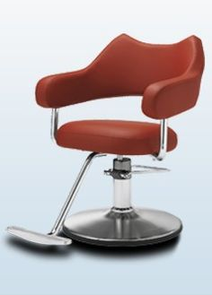 The Nami Salon Styling Chair by Takara Belmont & 69 best Styling u0026 Barber Chairs images on Pinterest | Barber chair ...