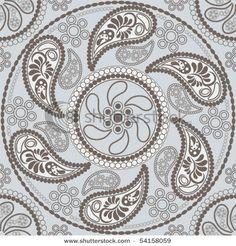 paisley pattern...