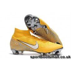 half off 96cba e5aaf Nike Mercurial Superfly VI 360 Elite Neymar FG Football Boots -  Yellow White Black