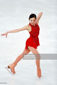 Marin Honda From Japan skates during the Ladie's Free Skating program of the ISU World Junior Figure Skating Championships 2016 at The Fonix Arena on March 19, 2016 in Debrecen, Hungary.